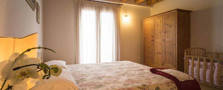 Camera appartamento Agriturismo Il Follo Valdobbiadene