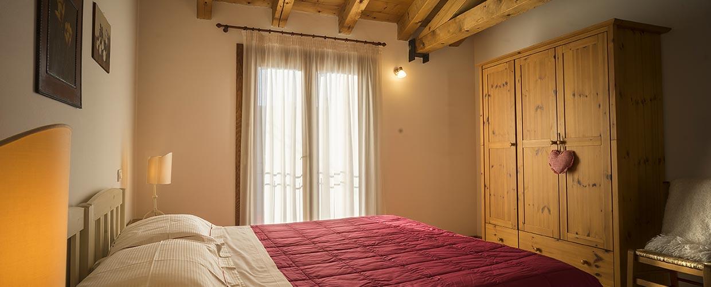 Camera matrimoniale appartamento Il Follo Valdobbiadene